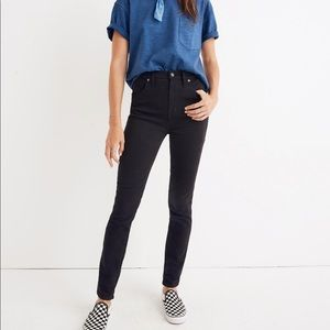 """Madewell 10"""" High Rise Skinny Jeans in Johnny Wash"""